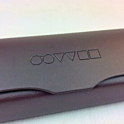 Oliver Peoples Eyeglasses Case Unisex Adult Brown Magnetic Made in Italy New