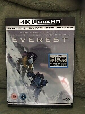 Everest (2015) 4K ULTRA HD BLU RAY With slipcover