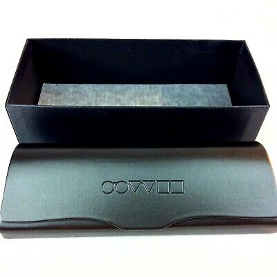 Oliver Peoples Eyeglasses Case Unisex Adult Dark Gray Magnetic Made in Italy New