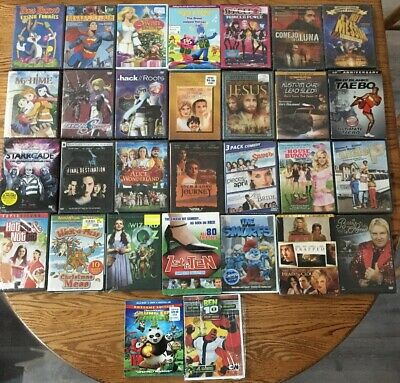 Wholesale LOT of 30 DVDS Mixed Titles Brand new Factory Sealed