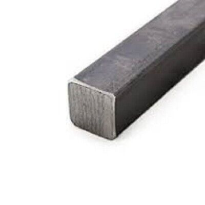 "Alloy 1018 Cold Rolled Solid Square Bar - 1 1/2"" x 1 1/2"" x 12"""