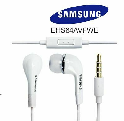 Genuine Samsung Handsfree Headphones Earphones Earbud with Mic For S6 S7 J5 J6
