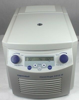 Eppendorf 5415R Refrigerated Centrifuge w/ Rotor & Lid, 6 Month Warranty