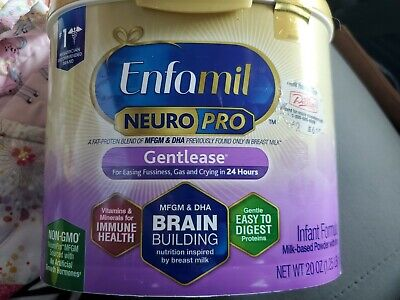Enfamil NeuroPro Gentlease Infant Formula, Powder-20 oz, expires 2/1/2021