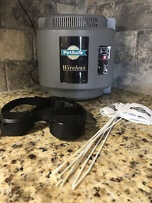 Petsafe Wireless Fence With Everything Including 2 Rechargeable Collars