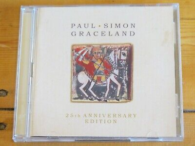 2 disc (CD & DVD) PAUL SIMON Graceland (25th anniversary deluxe edition)