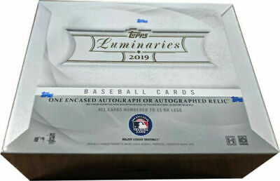 Topps 2019 Luminaries Baseball Factory Sealed Hobby Box with 1 Autograph Card
