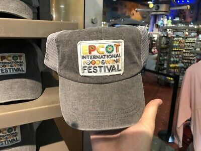 NWT Disney Epcot 2019 International Food & Wine Festival Passholder hat