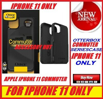 Otterbox Commuter Case for Apple Iphone 11 ONLY Color: BLACK 77-62463
