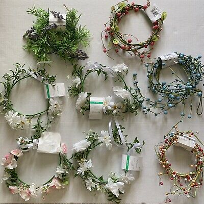 Floral Wire And Flower Crown Bundle