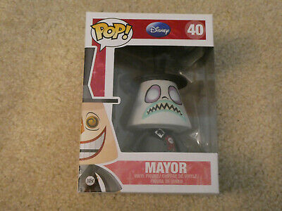 Funko Pop! Mayor #40 Nightmare Before Christmas. Vaulted! Ships Out ASAP!