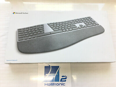 Microsoft Surface Ergonomic Keyboard Gray - Wireless - Bluetooth - *NEW*