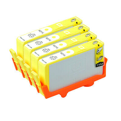 4 PK 902 XL Yellow Ink Cartridge Replacement for HP Officejet Pro 6950 T6M10AN