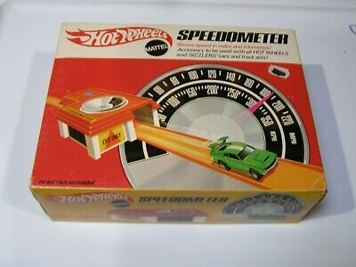 1969 Mattel Hot Wheels  Redline Speedometer sealed