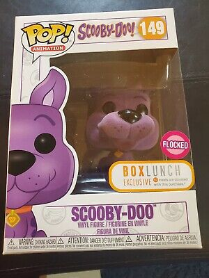 Funko POP! Scooby Doo Purple Flocked #149 BOX LUNCH EXCLUSIVE NEW VINYL TOY