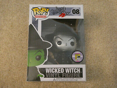 Funko Pop! Wicked Witch #08 METALLIC Comic Con 2011 Exclusive! Ships ASAP!