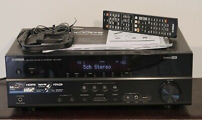 Yamaha RX-V371 Home theater receiver with 3D-ready HDMI