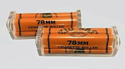 """Zig Zag AUTHENTIC Cigarette Roller/s Rolling Machines x2 1.25 """"**FREE SHIPPING**"""