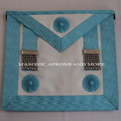 Masonic Craft Master Mason Apron with Pocket (Lambskin)(MA4053)
