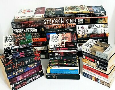 61 STEPHEN KING Books* HC-SC* 1ST EDITIONS* 11/22/63 JFK* Cycle of the werewolf*