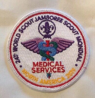 24th World Scout Jamboree 2019 Medical Services Patch Badge BSA USA WSJ