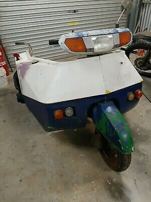 Nippi Honda powered wheelchair accessible trike/scooter 80cc? road registered