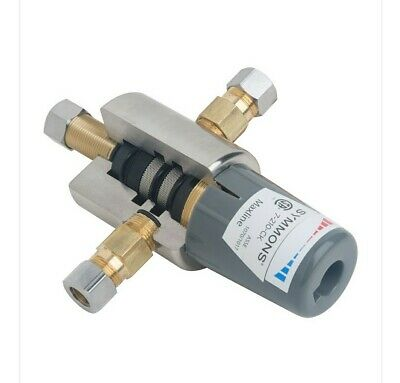 Symmons 7-210-CK Maxline thermostatic water temperature limiting valve.