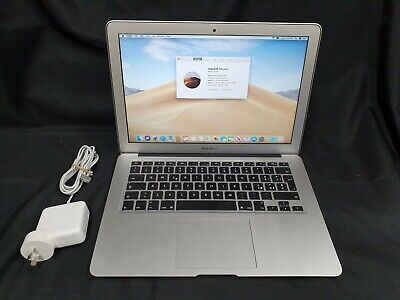 "APPLE MACBOOK AIR 13"" - 2017 - i5 @ 1.8GHz, 8GB RAM, 256GB SSD - A1466 - LAPTOP"