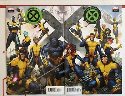 House Of X #4 & Powers Of X #4 Molina Connecting Variant Set Unread Nm Hickman!!