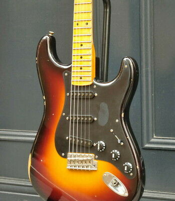 Fender Custom Shop Ancho Poblano Stratocaster Journeyman Relic Used w/Hard Case