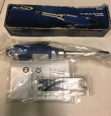 """Blue-Point 1/4"""" Mini extended Die Grinder AT120L New"""