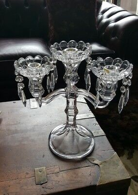 Antique Crystal Candelabra in EC