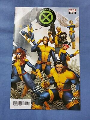 Marvel POWERS OF X  4 • Molina Connecting Variant NM