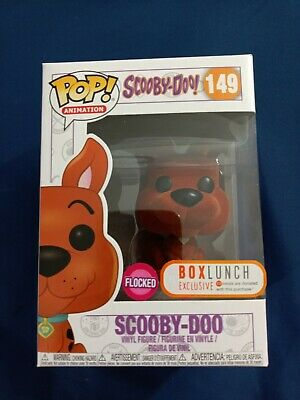 Funko Pop! Animation Flocked Scooby Doo Orange Box Lunch Exclusive