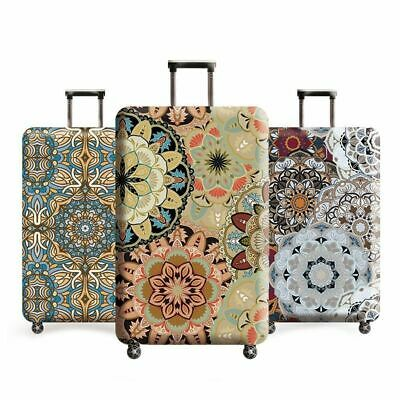 Vintage Floral Travel Luggage Cover Dust Case Protective Cover Trolley Covers