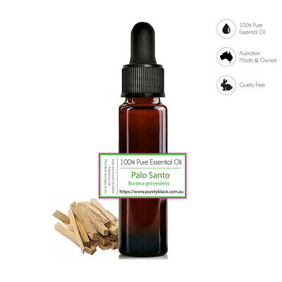 100% Pure Palo Santo [Bursera graveolens] Essential Oil - Holy Wood
