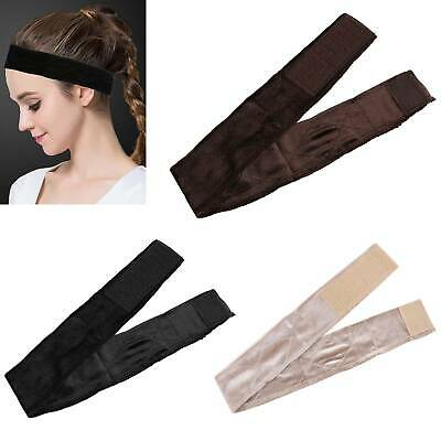 Adjustable Velvet Wig Grip Scarf Headband Scarf Hair Head Band Wiggery UK