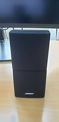 Bose Double Cube Speaker Direct Reflect DoubleShot Acoustimass Lifestyle Black