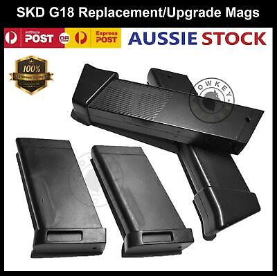 Upgrade Magazine Clip for SKD G18 Gel Ball Blaster Glock 18 Toy Parts 7-8mm Ammo
