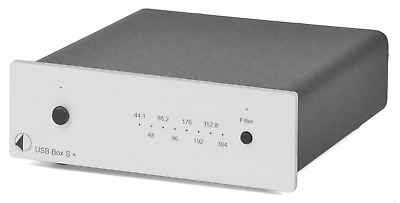 Pro-Ject Audio Systems USB Box S+ (Silver) Hi-Res DAC - FACTORY OUTLET STOCK