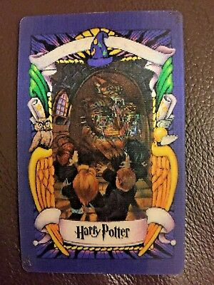 Harry Potter: FLUFFY Lenticular 3D Trading Picture Card | Chocolate Frog 2001