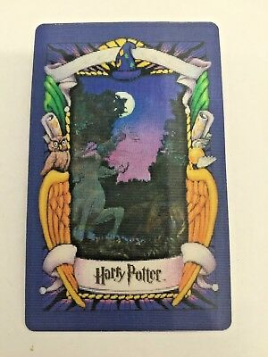 Harry Potter: CENTAUR Lenticular 3D Trading Picture Card | Chocolate Frog 2001
