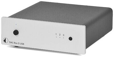 Pro-Ject Audio Systems DAC Box S USB (Silver) - FACTORY OUTLET STOCK