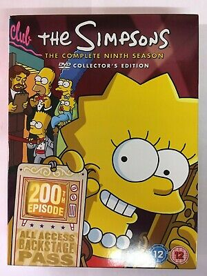 The Simpsons: Series Season 9  DVD  NEW *unsealed*  H4