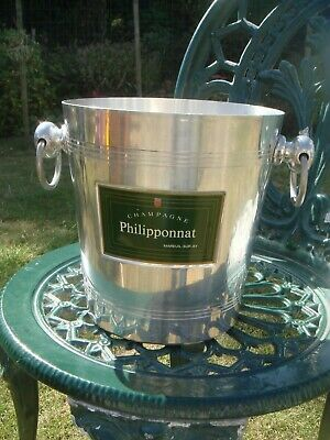 Vintage French Philipponnant  Aluminium Champagne Ice Bucket Cooler