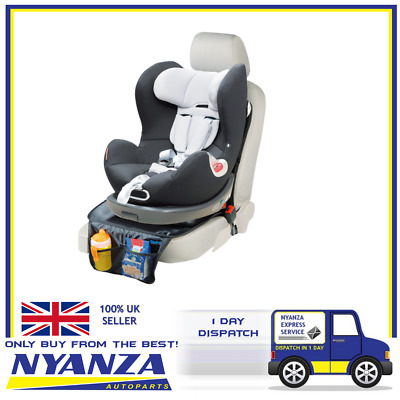 Simply Baby Car Seat Padded Protector, Black Extra padded car baby seat protect