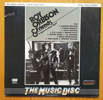 Roy Orbison & Friends A Black and White Night Laserdisc USA 1988