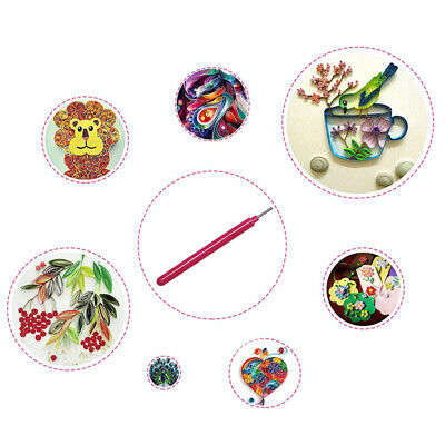 2Pcs Paper Quilling Tool Slotted Pen Kit Rolling Curling Needle Art DIY Craft