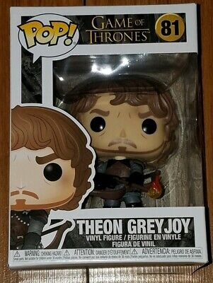 Funko Pop Game of Thrones #81 Theon Greyjoy In Hand