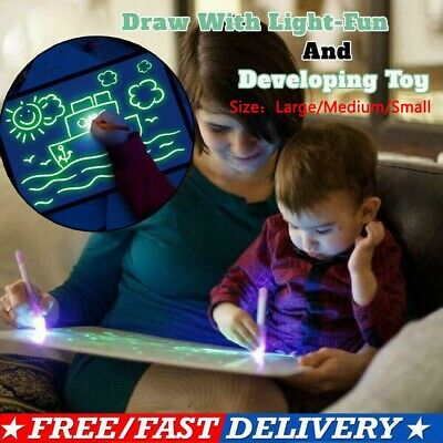 Draw Educational With Light Fun And Developing Toy Drawing Board Magic Draw US
